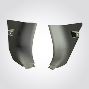 Board Cowl Trim R L