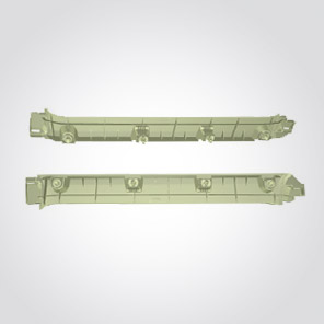 Garnish Roof Side Rail RR R&L